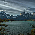 The Cuernos And Lake Pehoe #3 - Chile by Stuart Litoff