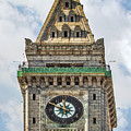 The Customs House Clock Tower Boston by Marcia Colelli