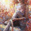 The Dancer In Ardent by Dmitry Kustanovich