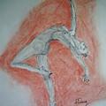 The Dancer by Murielle Hebert