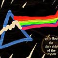 The Dark Side Of The Moon  by Enki Art