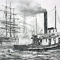 The Days Of Steam And Sail by James Williamson