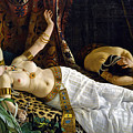 The Death Of Cleopatra by Achille Glisenti
