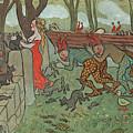 The Death Of Death by Ivar Arosenius