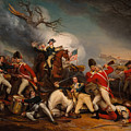 The Death Of General Mercer At The Bottle Of Princeton by Mountain Dreams