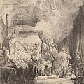 The Death Of The Virgin by Rembrandt Van Rijn