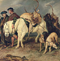 The Deerstalkers Return by Sir Edwin Landseer
