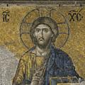The Dees Mosaic In Hagia Sophia by Ayhan Altun