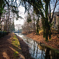 The Delaware Canal In New Hope Pa by Bill Cannon