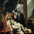 The Deposition by Nicolas Poussin