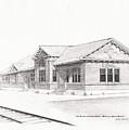 The Depot Mitchell South Dakota by Buffalo Dick Vance