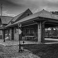 The Depot Monochrome by Dale Kauzlaric