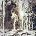 The Descent Into Hell 1468 by Mantegna Andrea