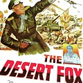 The Desert Fox  James Mason Theatrical Poster Number 3 1951 Color Added 2016 by David Lee Guss