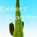 The Desert Warrior Poster Vi by MB Dallocchio