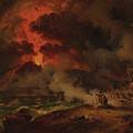The Destruction Of Pompeii by Pierre-Henri de Valenciennes