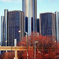 The Detroit Renaissance Center by Gordon Dean II