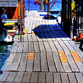 The Dock At Hill's Resort by David Patterson