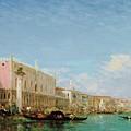 The Dock Of Slaves by Felix Ziem