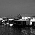 The Docks At Crisfield Md by Skip Willits
