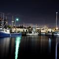 The Docks At Night by Bryan Goebert