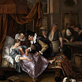 The Doctor's Visit by Jan Steen