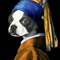 The Dog With A Pearl Earring by Courtney Kenny Porto