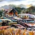 The Donor Cars by Ron  Morrison
