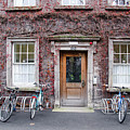 The Dorms At Trinity College Dublin Ireland by Bill Cannon