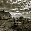 The Doucet House - Bw by Chris Bordeleau