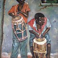 The Drummers by Leroy Geames