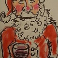The Drunken Santa by Geraldine Myszenski