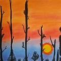 The Dryest Sunset by Sara Baker