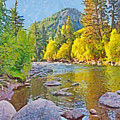 The Eagle River In October by Digital Photographic Arts