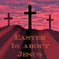 The Easter Cross by John Malone