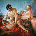 The Education Of Cupid by Francois Boucher