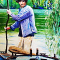 The Eel Catcher by Valerie Curtiss