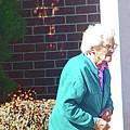 The Elderly Woman by Lenore Senior