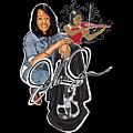 The Electric Violinist by JaVonne Jones