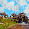 The Elephants Rise by Richard Kimenia