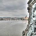 the embankment Praha by Yury Bashkin
