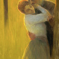 The Embrace by Gaston la Touche