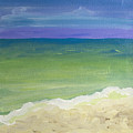 The Emerald Sea Panel 1 by Robyn Saunders