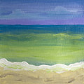 The Emerald Sea Panel 2 by Robyn Saunders