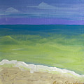 The Emerald Sea Panel 3 by Robyn Saunders