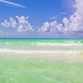 The Emerald Shore Of Destin, Fl by Damien Tullier