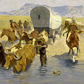 The Emigrants by Frederic Sackrider Remington