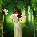 The Emotion Of The Angel by Emma Alvarez