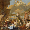 The Empire Of Flora by Nicolas Poussin