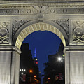 The Empire State Building Through The Washington Square Arch by Toby McGuire